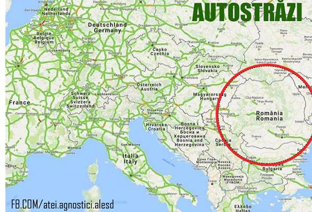 Harta țării De Doamne Ajută Romania Are Cei Mai Puţini