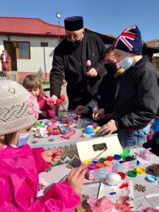 Arhiepiscopia a organizat o activitate catehetică și artistică de încondeiat ouă în Parohia Bătușari 3